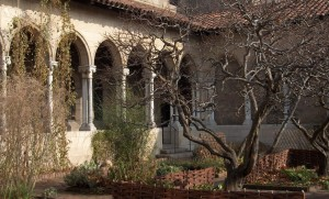 Cloisters in Winter