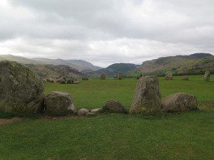 Castlerigg Stone Circle in its glorious mountain setting