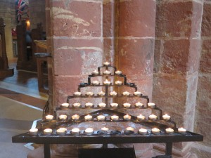 Candlelight at St Magnus Cathedral (Kirkwall, Orkney)