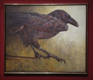 Raven (Jamie Wyeth, 1980)